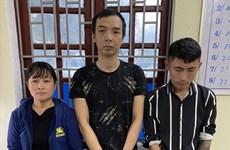 Thanh Hóa: Bắt ổ nhóm bảo kê, cưỡng đoạt tiền thương lái tại làng nghề