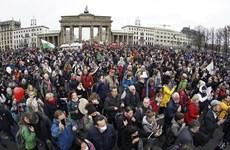 Đức tăng cường an ninh trước các cuộc biểu tình tại Berlin