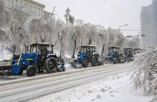 Nga: Vladivostok trải qua đợt mưa băng chưa từng có trong lịch sử