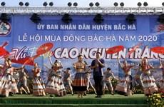 Hàng nghìn du khách tham dự khai mạc Lễ hội mùa Đông tại Lào Cai