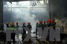 Nghệ An: Kịp thời dập tắt vụ cháy tại kho hàng chứa sơn