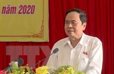 Chủ tịch Ủy ban Trung ương MTTQ gửi điện mừng Quốc khánh CHDCND Lào