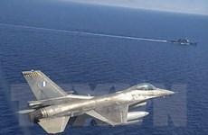 Ai Cập, Hy Lạp và Cyprus tập trận chung ở Địa Trung Hải