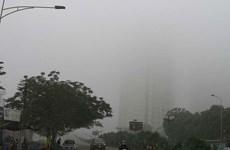Không khí Hà Nội ô nhiễm nặng, người dân nên hạn chế ra ngoài