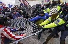 Cận cảnh người biểu tình làm loạn tại tòa nhà Quốc hội Mỹ