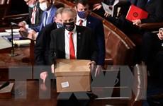 Thượng viện Mỹ bác đơn phản đối kết quả bầu cử ở bang Pennsylvania