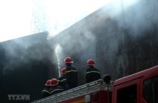 Điện Biên Phủ: Hỏa hoạn trong đêm, nhiều tài sản bị thiêu rụi