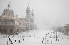 Tây Ban Nha trải qua đợt bão tuyết mạnh nhất trong nhiều thập kỷ