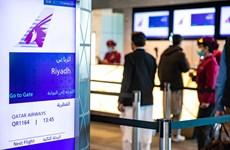 Qatar thực hiện chuyến bay đầu tiên đến Saudi Arabia sau gần 4 năm
