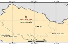 Xảy ra động đất nhẹ tại Lai Châu, không gây rủi ro thiên tai