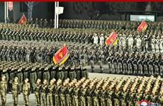 Triều Tiên phô diễn nhiều vũ khí tối tân trong lễ duyệt binh