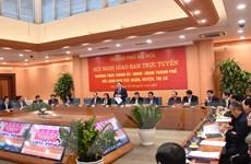 Hà Nội thực hiện 9 nhóm nhiệm vụ và giải pháp phát triển KT-XH