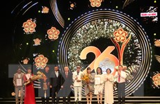 Vinh danh các nghệ sỹ đoạt Giải thưởng Mai Vàng năm 2020