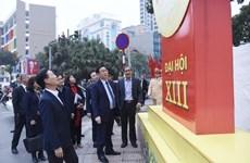 'Trang trí chào mừng Đại hội XIII của Đảng phải đẹp và ấn tượng'
