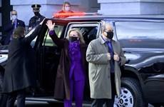 Nhiều cựu nguyên thủ Mỹ đến dự lễ nhậm chức của ông Joe Biden