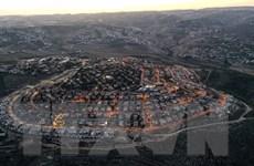 Palestine phản đối việc Israel xây hơn 2.500 nhà định cư mới