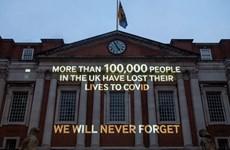 Anh chính thức vượt qua mốc 100.000 ca tử vong do COVID-19