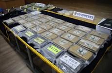Hàn Quốc thu giữ một lượng lớn ma túy trị giá gần 100 triệu USD