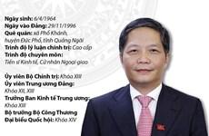 Ủy viên Bộ Chính trị, Trưởng Ban Kinh tế Trung ương Trần Tuấn Anh