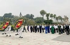 Lãnh đạo TP. Hồ Chí Minh tri ân công lao các anh hùng liệt sỹ