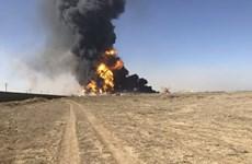 Cháy nhiều tàu chở dầu ở cảng biên giới Afghanistan-Iran