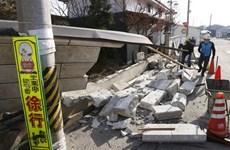 Nhật Bản cảnh báo nhiều dư chấn mạnh sau trận động đất ở Fukushima