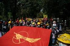 Myanmar: Sinh viên Đại học Yangon đối đầu với cảnh sát chống bạo động