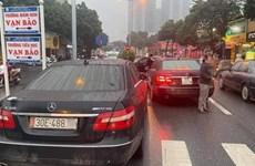Hà Nội khẩn trương điều tra vụ hai xe ôtô 'song sinh' cùng biển số