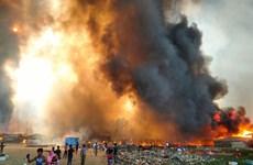 Bangladesh: Cháy lớn khiến hàng vạn người tị nạn Rohingya phải sơ tán