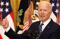 Tổng thống Mỹ đề cập nhiều vấn đề nổi cộm trong cuộc họp báo đầu tiên