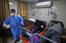 Chưa hết chiến tranh, bệnh viện Syria lại tràn ngập bệnh nhân COVID
