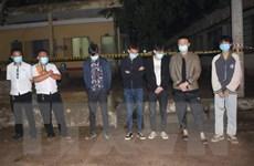 Bình Phước: Tạm giữ xe chở 5 người nước ngoài nhập cảnh trái phép