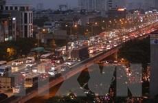 Hà Nội chặn phương tiện trên đường Vành đai 3 trên cao