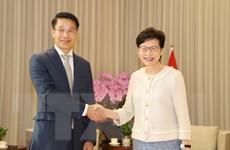 Việt Nam thúc đẩy quan hệ hợp tác với Hong Kong (Trung Quốc)