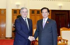 Thủ tướng Nguyễn Tấn Dũng tiếp Phó Chủ tịch EC
