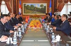 Tăng cường công tác Mặt trận 3 nước VN-Lào-Campuchia