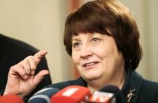 Bà Straujuma trở thành nữ Thủ tướng đầu tiên của Latvia