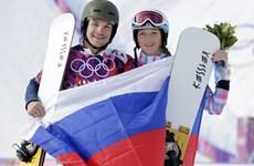 Vợ, chồng cùng giành huy chương Olympic trong 1 ngày