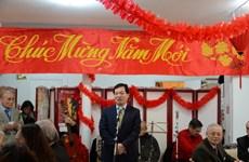 Hội Công nhân Việt Nam tại Pháp gặp mặt đầu Xuân