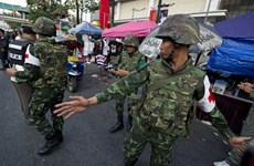 Tư lệnh Lục quân Thái kêu gọi các bên tiến hành đối thoại