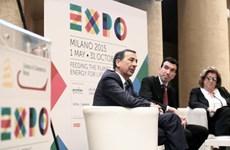 Hơn 140 quốc gia tham gia Hội chợ Milan Expo 2015