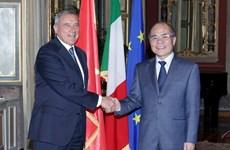 Italy sẵn sàng hỗ trợ Quốc hội Việt Nam nâng cao năng lực