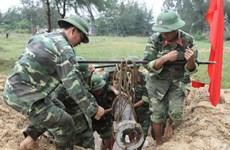 Xử lý an toàn quả bom nằm gần khu dân cư ở Đăk Nông