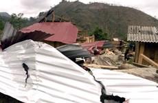 Mưa đá và gió lốc gây thiệt hại trên 1 tỷ đồng tại Điện Biên