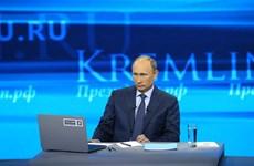Ukraine - chủ đề chính buổi trả lời trực tiếp của ông Putin