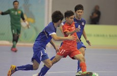 Chủ nhà Việt Nam đặt mục tiêu tốp 8 giải Futsal châu Á