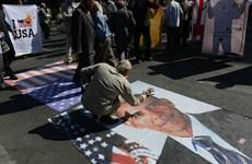 Hàng nghìn người Iran biểu tình phản đối thỏa thuận với P5+1