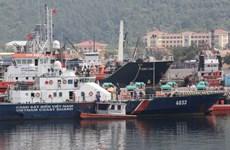 Tàu Cảnh sát biển bị Trung Quốc đâm vỡ đã sẵn sàng ra biển