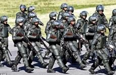 Biệt đội cảnh sát đặc biệt bảo đảm an ninh World Cup 2014