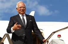 Thủ tướng Malaysia Najib Razak thăm chính thức UAE